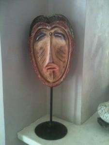 Triste masque